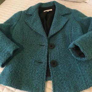 CAbi peacock blue jacket
